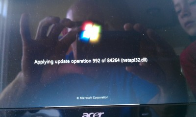 Really?  84264 software updates?  Why do people put up with crap like this.
